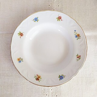 アラビア(ARABIA)の*old arabia ❀ decorated リム Soup plate(食器)
