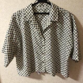 JEANASIS - ジーナシス JEANASIS 半袖シャツ ブラウスシャツ