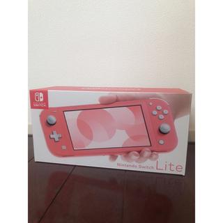 Nintendo Switch - 最終値下げ⭐︎美品 Nintendo Switch lite  コーラル