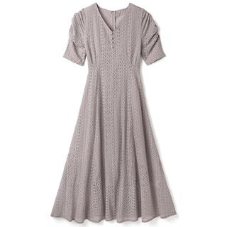 GRL - GRL パワショルVネックレースワンピース ベージュ 新作 人気 上品 白石麻衣