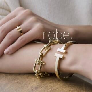 489.link bracelet【gold】
