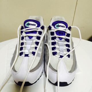 ナイキ(NIKE)の★yyy2様専用★nike airmax95og purple 23.5cm(スニーカー)