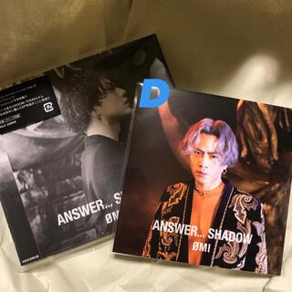 三代目 J Soul Brothers - ANSWER…SHADOW ØMI  初回限定盤CD+DVD 登坂広臣