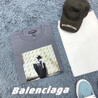 Balenciaga - BALENCIAGAL1960復古vintageポートレート半袖