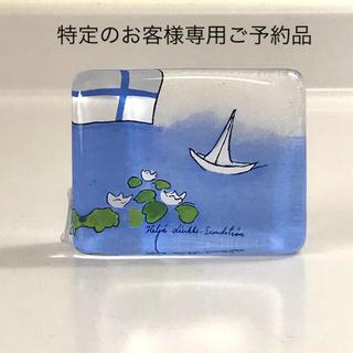 """iittala - iittala ヘルヤ ガラスカード """"Suomen kesä"""""""