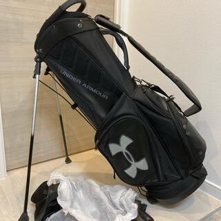 UNDER ARMOUR - UNDER ARMOUR(アンダーアーマー) スタンド式ゴルフキャディバック