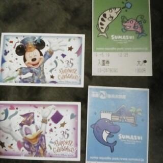 ディズニー(Disney)のディズニーランドの使用済パスポート(遊園地/テーマパーク)