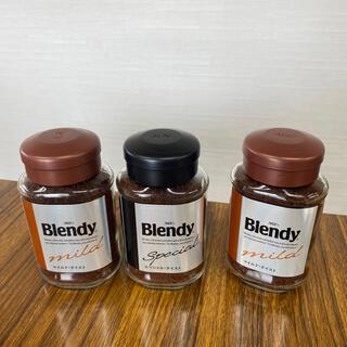 エイージーエフ(AGF)のAGF Blendy インスタントコーヒー 3本(コーヒー)