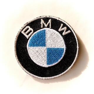 BMW《1点》ビーエム 高級人気メーカー  アイロン刺繍ワッペン  外車