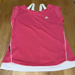 アディダス(adidas)のadidas アディダス Tシャツ テニス テニスウェア 試合ウェア ピンク(ウェア)