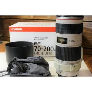 Canon - 美品 EF 70-200 F4 L IS USM
