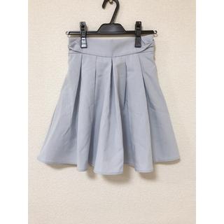 マジェスティックレゴン ストライプスカート(ひざ丈スカート)