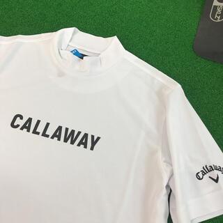 Callaway - キャロウェイ  ゴルフ  人気モックネック ドライシャツ