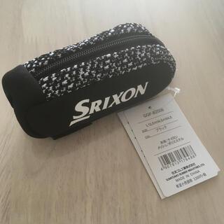 スリクソン(Srixon)のDUNLOP SRIXON ゴルフ ボールポーチ黒(その他)