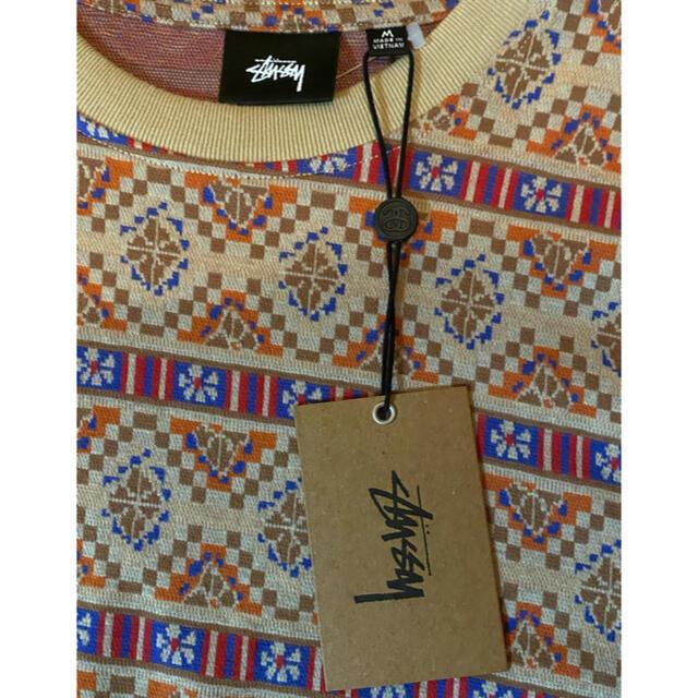 STUSSY(ステューシー)のstussy GIZA LS CREW (定価以下) メンズのトップス(Tシャツ/カットソー(七分/長袖))の商品写真