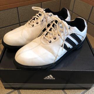 アディダス(adidas)のadidasゴルフシューズ25.0センチ(シューズ)