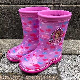 ディズニー(Disney)の長靴 ソフィア  14.0 レインブーツ 女の子(長靴/レインシューズ)