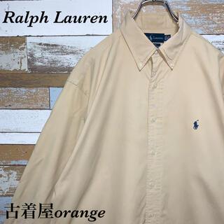 Ralph Lauren - 【ラルフローレン】【人気色】90s BDシャツ 長袖 ビッグシルエット ブラウン