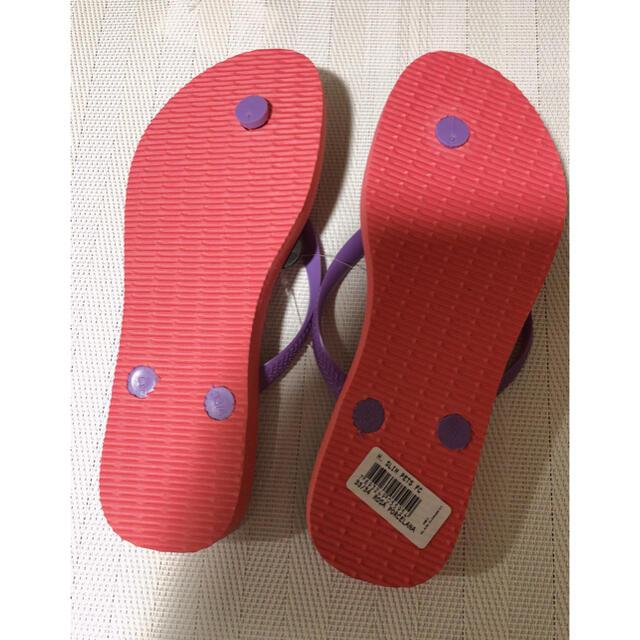 havaianas(ハワイアナス)のhavaianasビーチサンダル SLIM PETS レディース Sサイズ レディースの靴/シューズ(ビーチサンダル)の商品写真