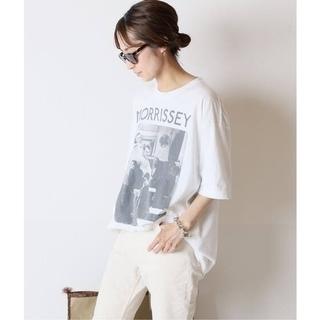 FRAMeWORK - フレームワーク☆【THRIFTY LOOK】MORRISSEY Tシャツ 新品