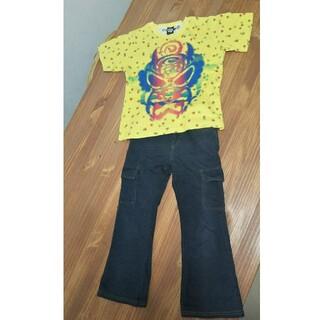 ヒステリックグラマー(HYSTERIC GLAMOUR)のHYSTERIC GLAMOUR MINI Tシャツ&コムサ ズボン 110cm(Tシャツ/カットソー)