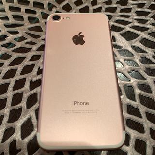 iPhone - 美品 iPhone7  ローズゴールド SIMフリー