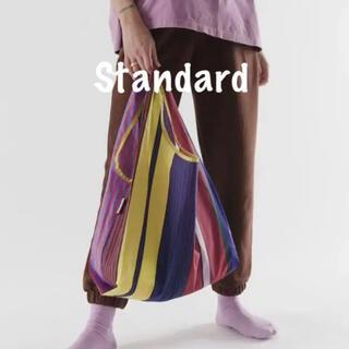 エディットフォールル(EDIT.FOR LULU)の【新品未使用】BAGGU バグー スタンダード  fansy stripe(エコバッグ)