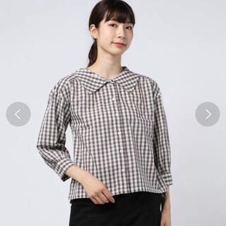 エヘカソポ(ehka sopo)のehka sopo チェックシャツ(シャツ/ブラウス(長袖/七分))