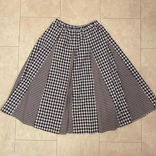 オリーブデオリーブ(OLIVEdesOLIVE)のオリーブデオリーブ ギンガムチェック スカート(ロングスカート)