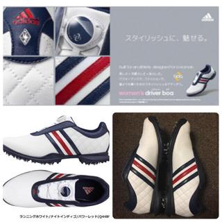 adidas - adidas ゴルフシューズ レディース 23センチ
