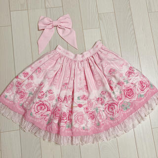 Angelic Pretty - Angelic Pretty Romantic Rose Letter スカート