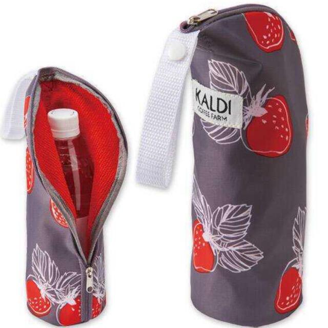 KALDI(カルディ)のカルディ  いちごバッグ 2021 レディースのバッグ(エコバッグ)の商品写真