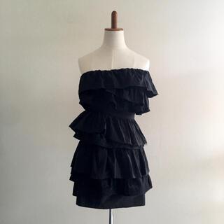 Lily Brown - 未使用 ベアトップワンピース ドレス 1 リリーブラウン