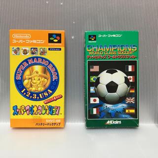 スーパーファミコン - ニンテンドー スーパーファミコンソフト『スーパーマリオコレクション』他