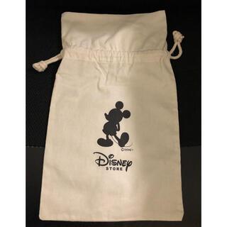 ディズニー(Disney)のディズニーDisneyストア巾着袋布袋(ショップ袋)