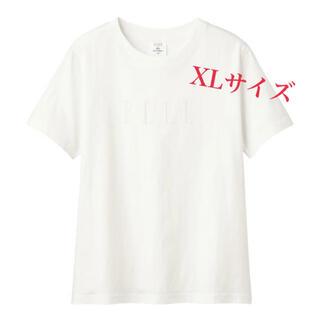 GU - 【新品未使用】GU × ELLE コラボ グラフィックT XLサイズ
