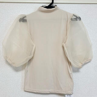 GRL - 袖チュール Tシャツ