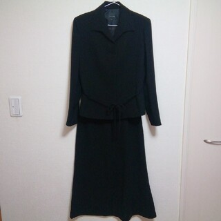 美品★ブラックフォーマル3点セット11号(礼服/喪服)