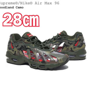 Supreme - Supreme / Nike Air Max 96エアーマックス 28㎝
