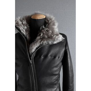 ISAMUKATAYAMA BACKLASH - incarnation sheep shearling mouton jacke