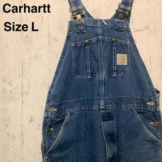 carhartt - Carhartt オーバーオール デニム ホワイトステッチ 一点物