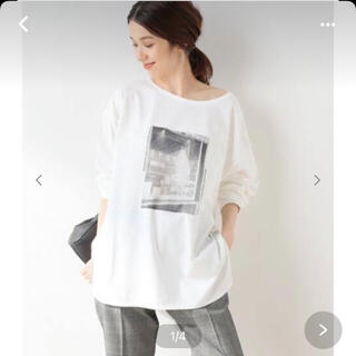スピックアンドスパン(Spick and Span)のSpick and Span⭐︎フォトロングラウンドTシャツ(Tシャツ(長袖/七分))