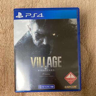 コード未使用 バイオハザード ヴィレッジ Z Version PS4(家庭用ゲームソフト)
