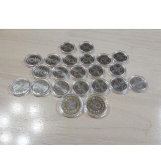 2020一次,二次,三次,四次東京オリンピック記念硬貨 22個コンプリート