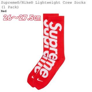 シュプリーム(Supreme)のSupreme ×NIKE 靴下 シュプリーム   ナイキ  ソックス(ソックス)