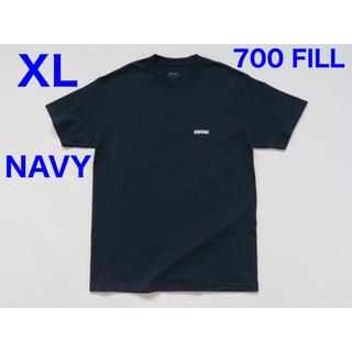 ワンエルディーケーセレクト(1LDK SELECT)の700 FILL Flip Payment Logo Tee - Navy XL(Tシャツ/カットソー(半袖/袖なし))