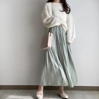 GRL - ギャザーフレアスカート