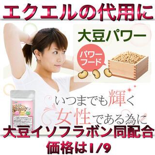 エクエルの代用に 大豆イソフラボン 3ヶ月分 いつまでも輝く女性の為の応援サプリ