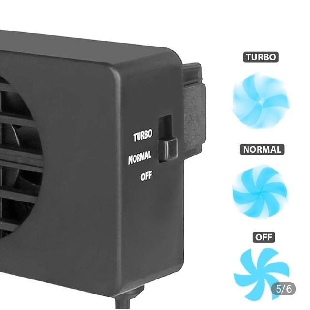 任天堂スイッチ 冷却ファン エンタメ/ホビーのゲームソフト/ゲーム機本体(その他)の商品写真
