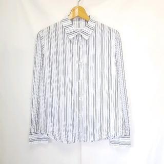 FRAY I.D - ★日本製 FRAY I.D リネン ストライプ シャツ ブラウス